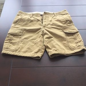 Hollister Mens Sz 32 cargo shorts  great condition
